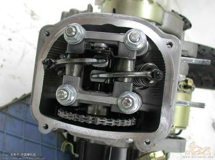 踏板车发动机之gy6与wy125t的区别