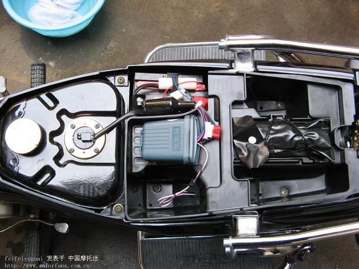 我的qs110超级赛驰~~!(图) - 济南铃木-骑式车 - 摩托