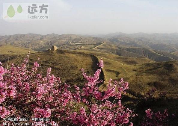 山西省太原市五寨县冬天的风景