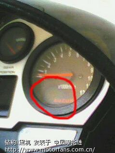 转速表 里程表问题高清图片