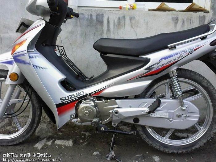 刚买的新车轻骑铃木qs110