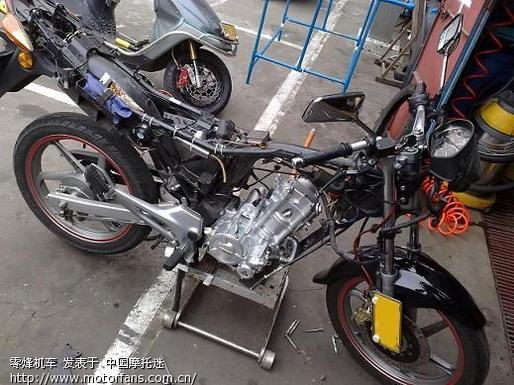 CBF150改用隆鑫CBD250水冷发动机03.jpg