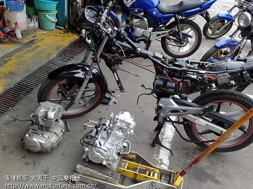 CBF150改用隆鑫CBD250水冷发动机02.jpg