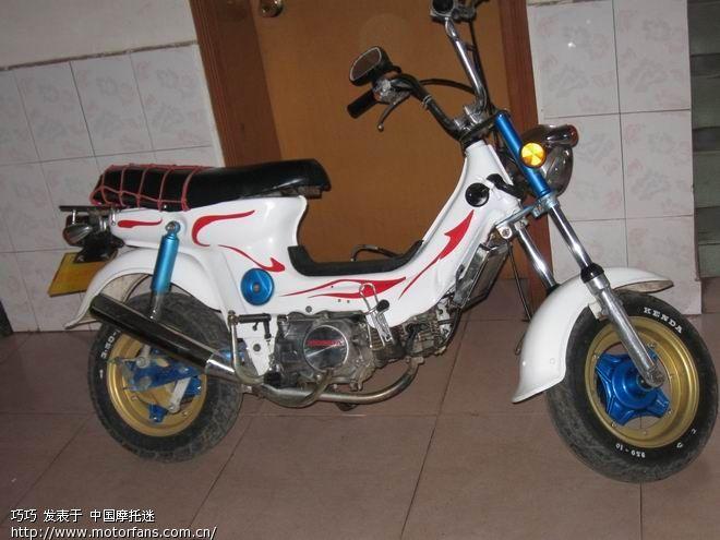 论坛 69 摩托车论坛 69 维修改装 69 秀秀我改装的金城小天使!