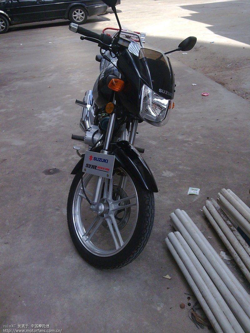 gsx125-3b新入手,大家帮看看 - 济南铃木-骑式车 - 车