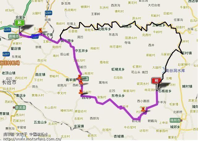 长治潞城到河南林州红旗渠青年洞