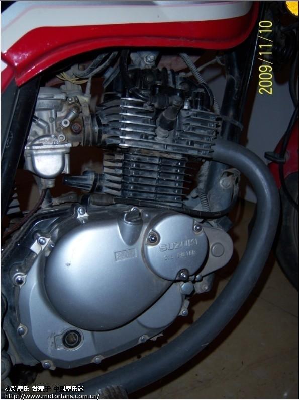 25 F406发动机的摩托车可以换GN250的发动机吗 将摩旅进行到底图片