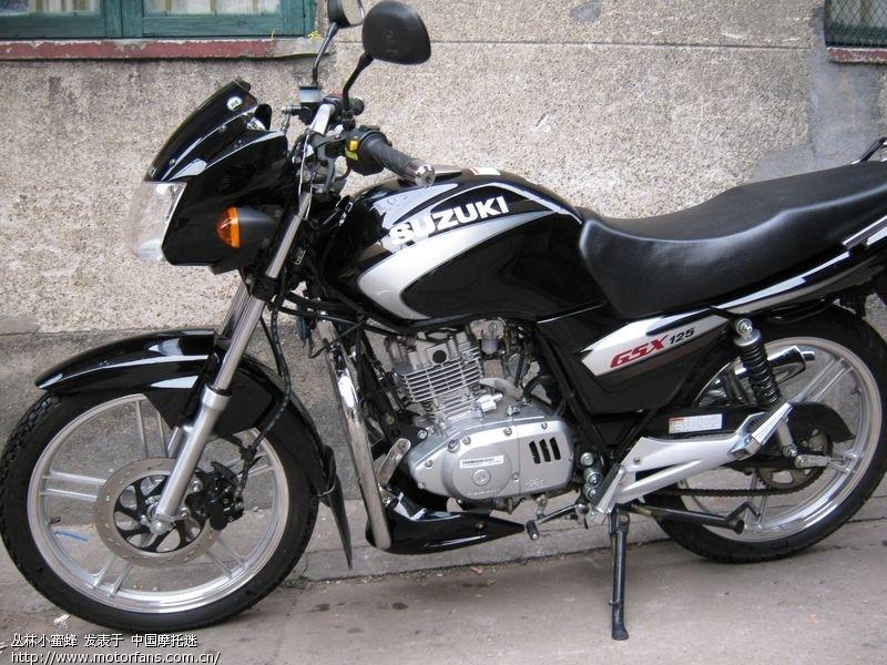 关于gsx125 3b - 济南铃木-骑式车 - 摩托车论坛