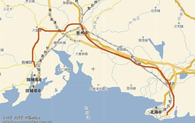 第七天:徐闻-雷州-遂溪-合浦-钦州-防城区