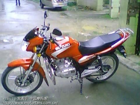 我的gsx-125 3b请大家帮忙看看 - 济南铃木-骑式车