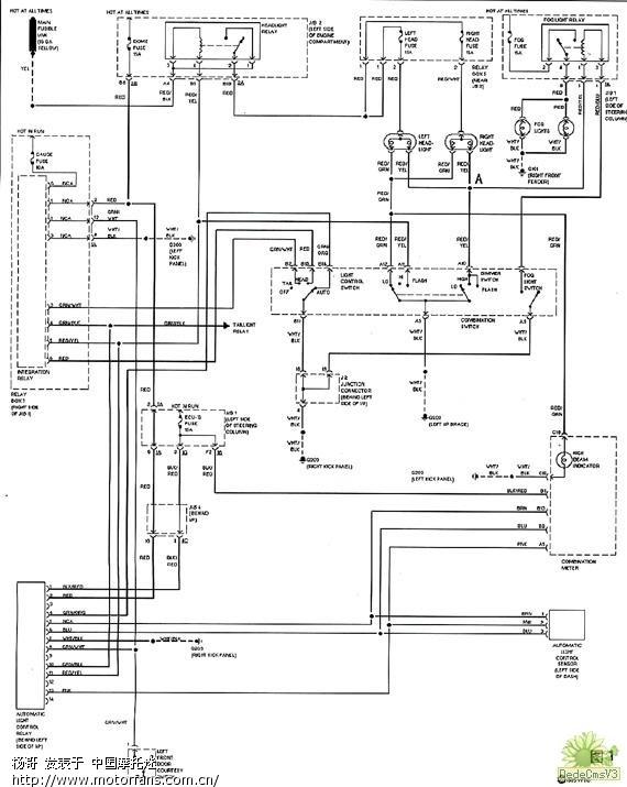 灿气灯安定器电路图