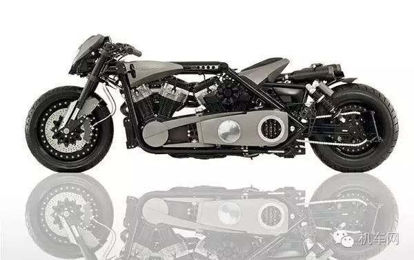 恐怖的德国人,造出搭载两个V型双缸引擎的摩托车
