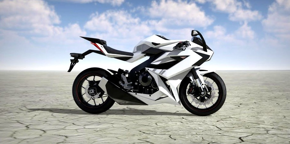 Molot 概念车,被誉为最安全的摩托车!