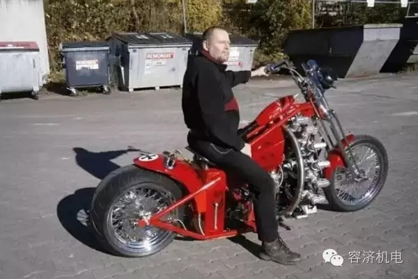 """摩托车也有""""洪荒之力"""""""