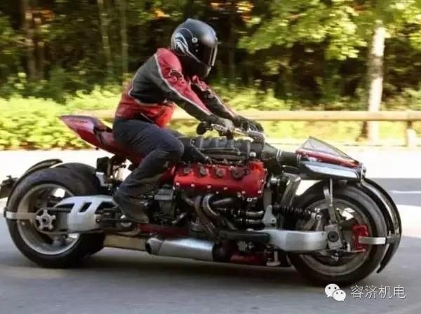 玩摩托,这样才叫入迷!