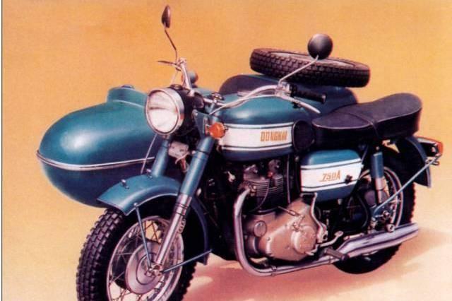 阿拉曾经造过那么NB的摩托车--东海750