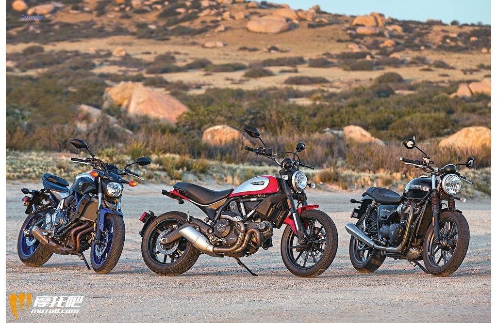 Ducati、Triumph、Yamaha中量级双缸大比拼!