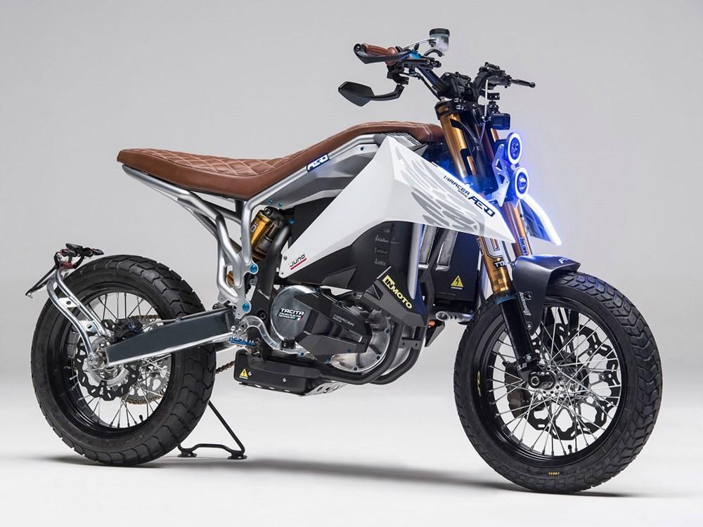 意大利新品牌Aero推出Scrambler风格电动越野车