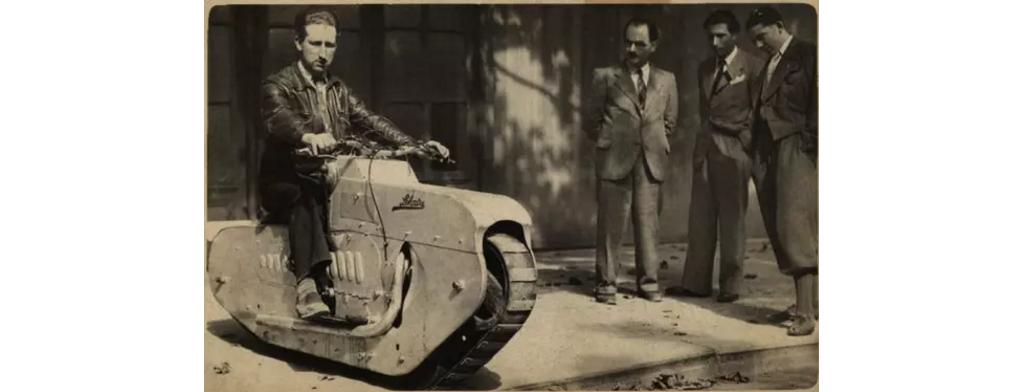 这些老爷摩托车 你见过几部?