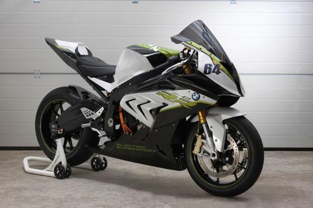 宝马推纯电动摩托概念车eRR 或将今年上市