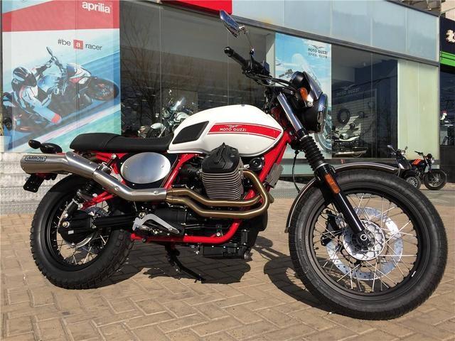 全国仅5台的限量版V7 II Stornello摩托车