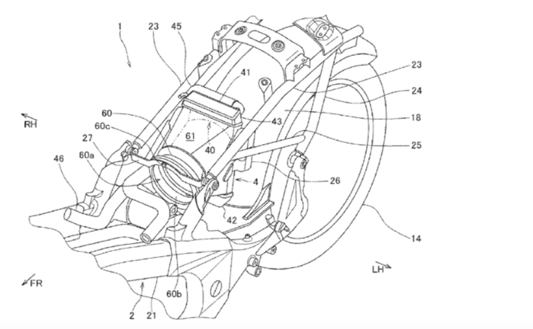 本田发布巡航车的新专利