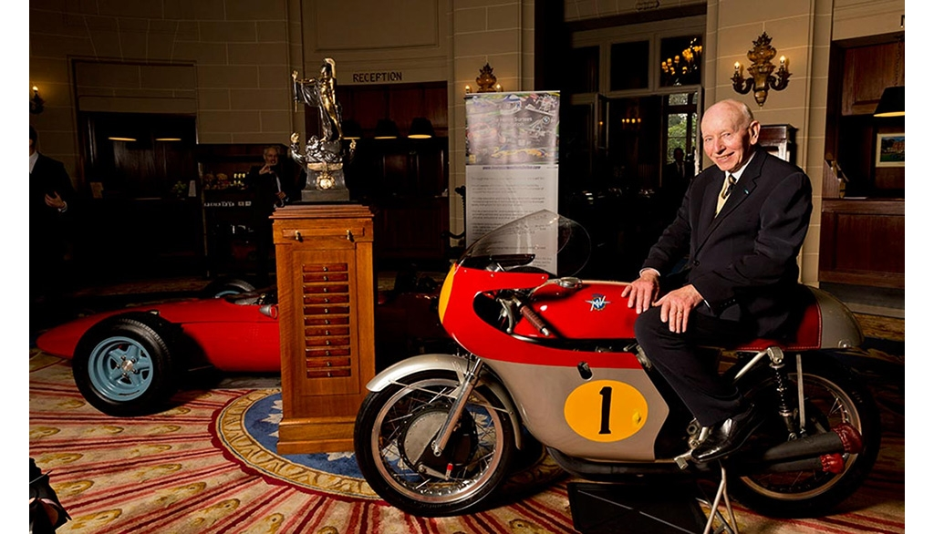 史上唯一GP500 & F1双料世界冠军逝世---舒迪斯(John Surtees)