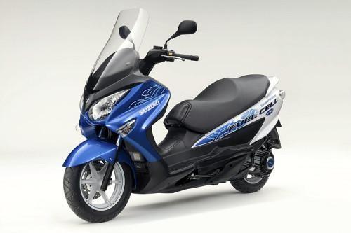 日本铃木试行燃料电池摩托车租赁服务