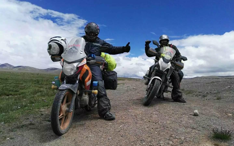 厦门摩托旅行摄影师10年15次骑摩托游新疆西藏