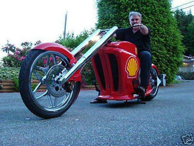 意大利人冒牌生产法拉利摩托,被告后几乎破产