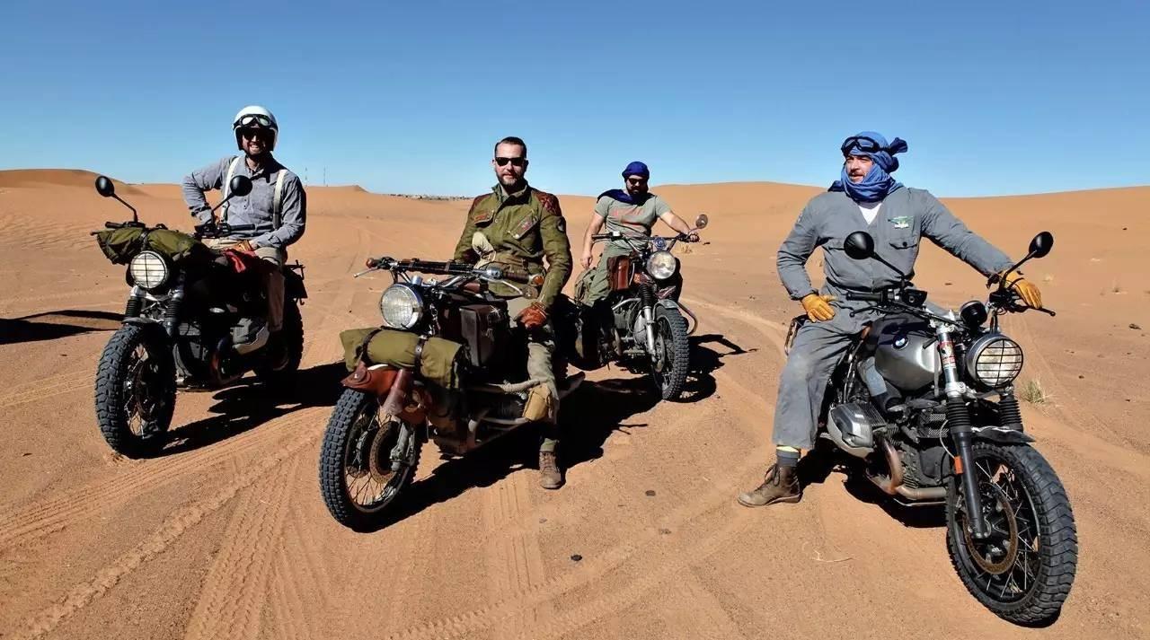 4部摩托车 一路向南,四个老友的冈比亚