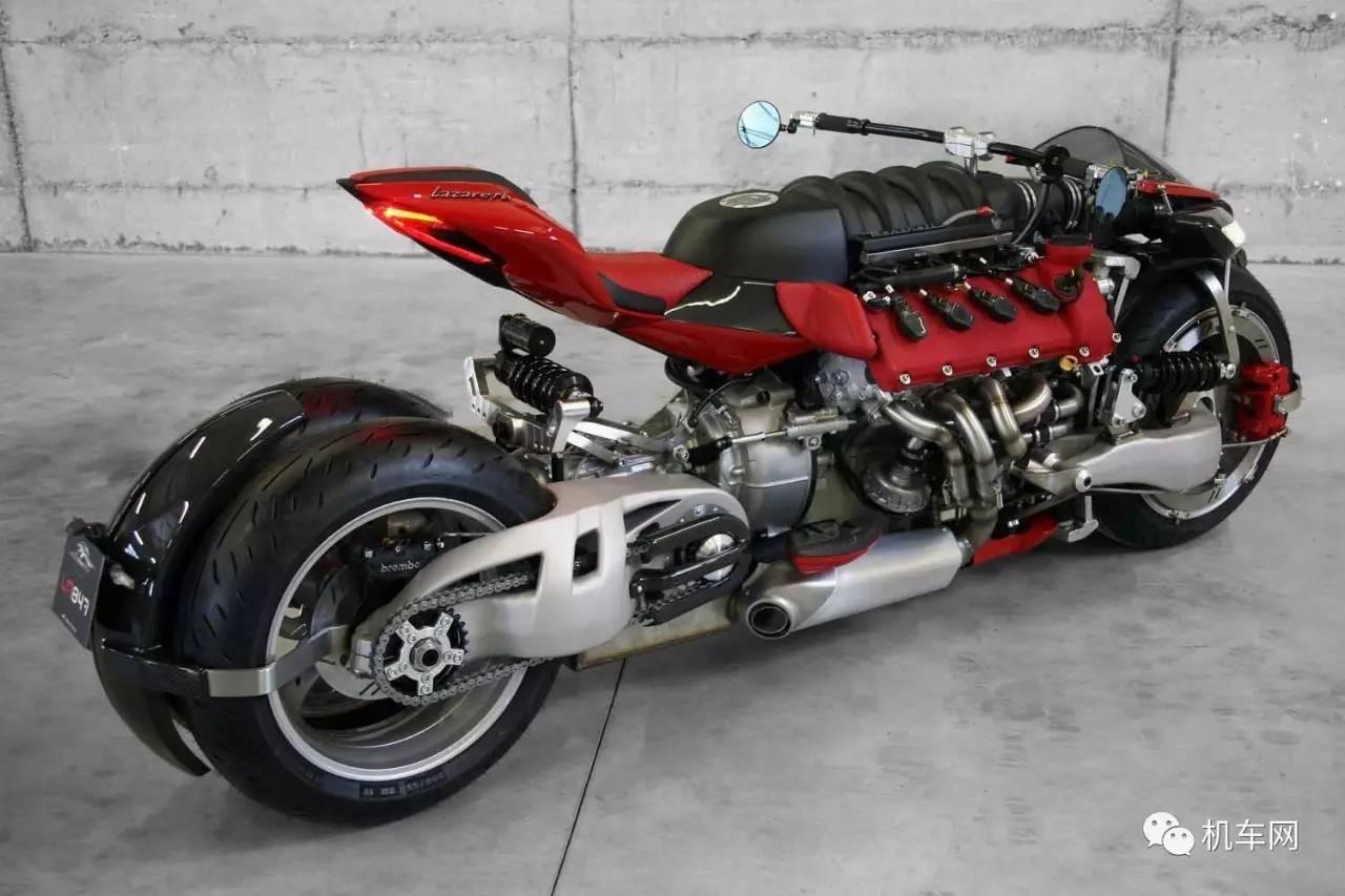 最具有视觉冲击力的摩托车,总有一款雷到你