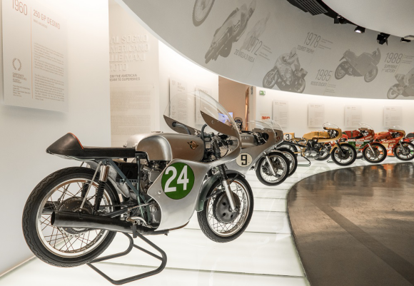 感受机械艺术之美,杜卡迪博物馆之旅