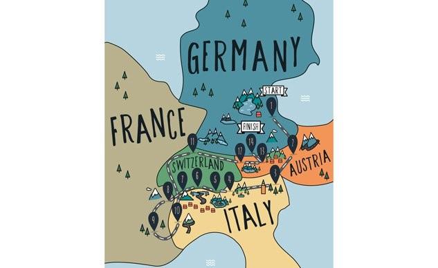 5国14天,国外摩友分享欧洲骑行经历