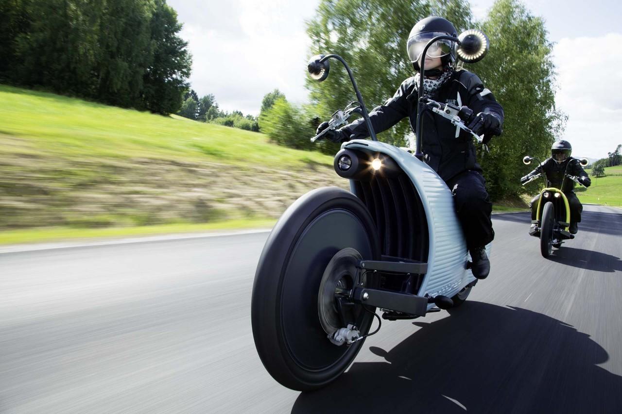 电动摩托车离我们不远了 我说的不是电单车.