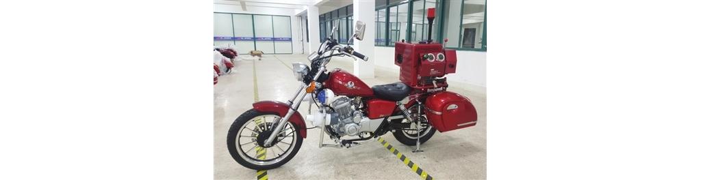 消防摩托车将亮相海博会(图)