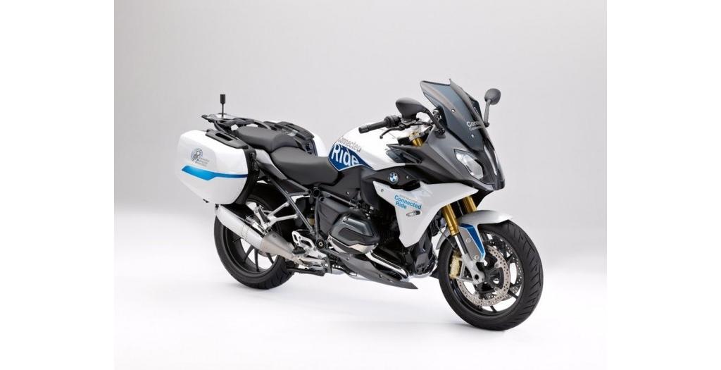 宝马发布R1200RS ConnectedRide:展示摩托车领域的V2V通信技术