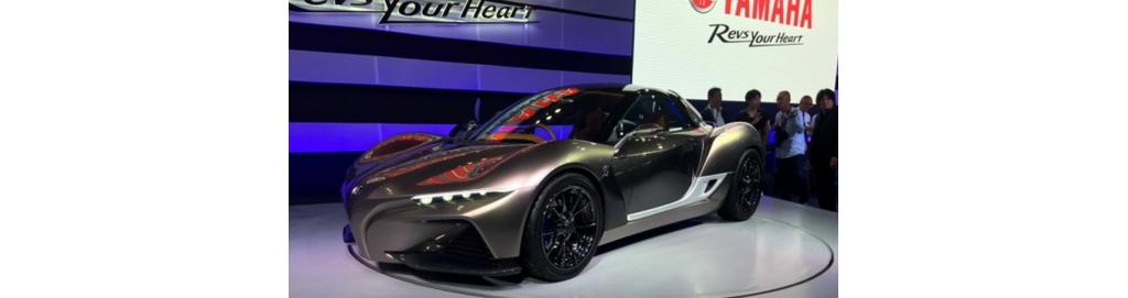 日本摩托车制造商雅马哈将在月底东京车展发布一台新的概念性汽车