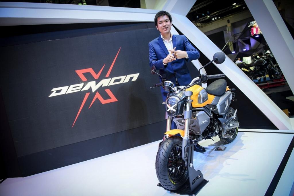 海外的国产车,泰国GPX的新车 Demon X 125