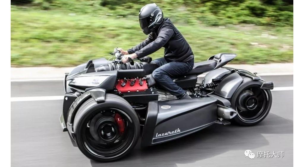 拉扎雷斯的三轮怪兽,玛莎拉蒂引擎再附身:Wazuma V8M