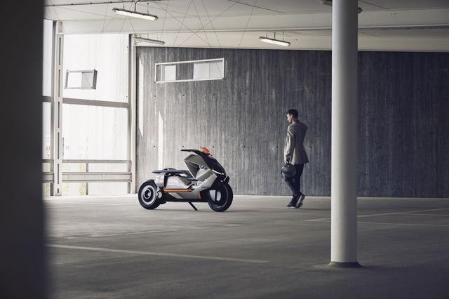 看宝马的新款概念摩托 下一个100年要实现