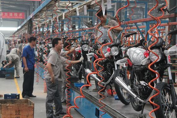 【统计数据】2017年1-9月摩托车五大系列出口量排名