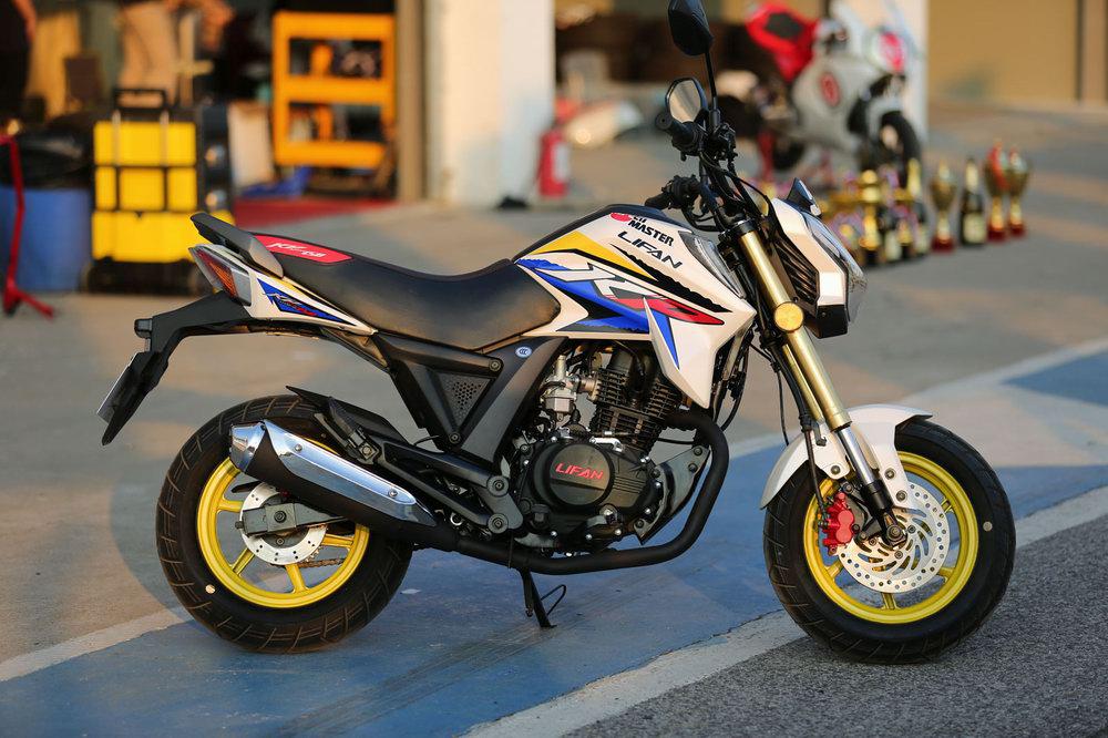 听说这个品牌在国内最受欢迎的MINI摩托车中占了60%