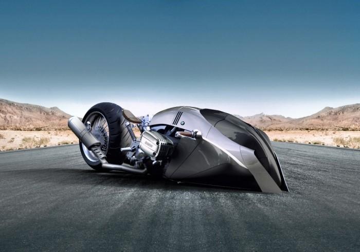 设计师为宝马打造超酷炫概念摩托BMW R1100R KHAN