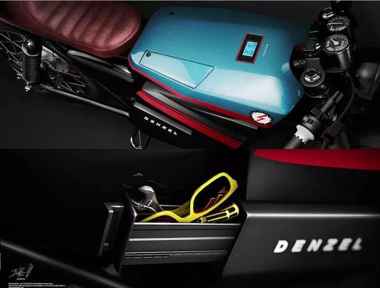这款7.5千瓦电动复古摩托 售价3.3万 瞄准125CC代步车