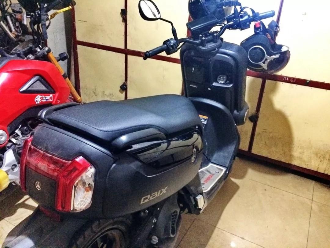 """有个丰满的""""屁股"""",泰国 Yamaha QBIX 125 实拍"""