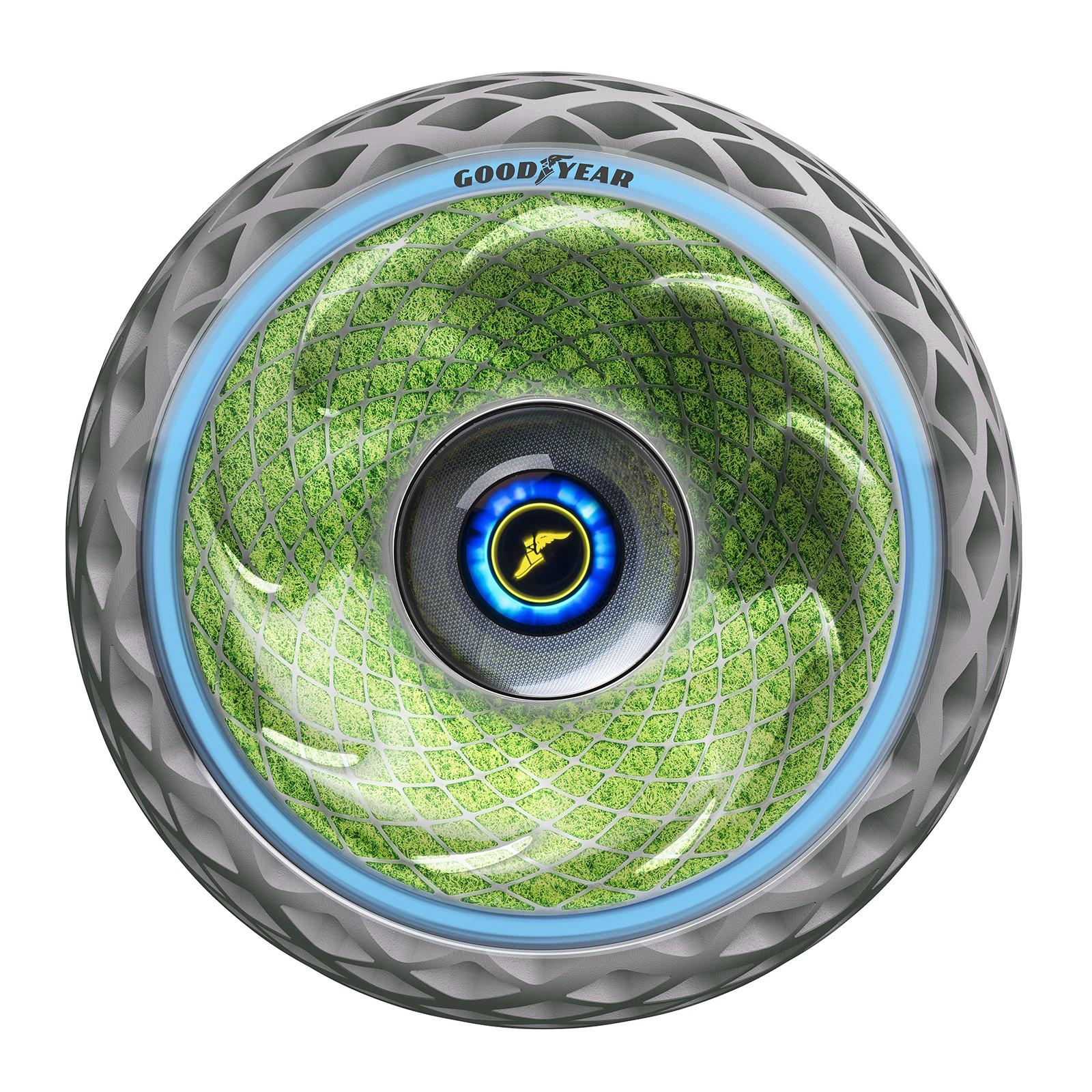 未来轮胎再一发 GOODYEAR氧气概念轮胎