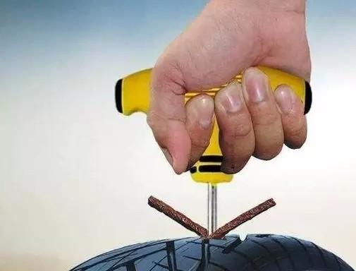浅谈5种摩托车轮胎修补方法!