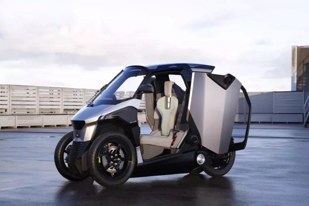 标致摩托│设计未来车辆,描绘车