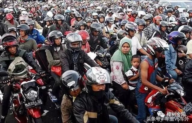 【骑着摩托看世界】全球摩托车保有量最多的